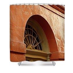 French Quarter Arches Shower Curtain by KG Thienemann