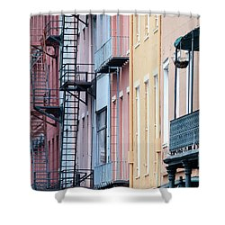 French Quarter Colors Shower Curtain