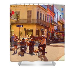 French Quarter Day Shower Curtain