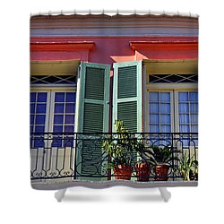 French Quarter Home Shower Curtain