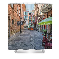 French Quarter Market Shower Curtain