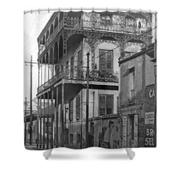 Dauphine St Residence Shower Curtain
