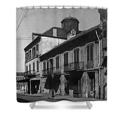 French Quarter Residences Shower Curtain