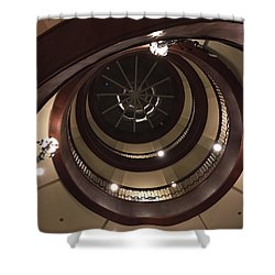 French Quarter Spiral Shower Curtain