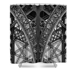 French Symmetry Shower Curtain