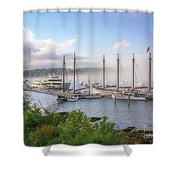 Frenchman's Bay Bar Harbor Shower Curtain