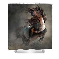 Frenzy Shower Curtain