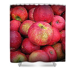 Fresh Apples Shower Curtain