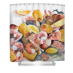 Fresh Boiled Shower Curtain