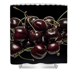 Fresh Cherries Shower Curtain