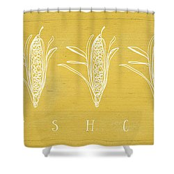 Fresh Corn- Art By Linda Woods Shower Curtain