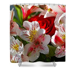 Fresh Flowers Shower Curtain