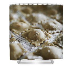 Fresh Homemade Italian Pasta  Shower Curtain