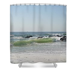 Fresh May Morning Shower Curtain