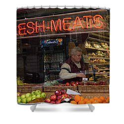 Fresh Meats Shower Curtain