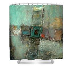 Fresh Pattern Shower Curtain by Behzad Sohrabi