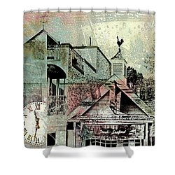 Shower Curtain featuring the photograph Fresh Seafood by Susan Stone