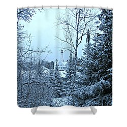 Shower Curtain featuring the photograph Fresh Snow by Greta Larson Photography
