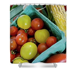 Fresh Tomatoes Shower Curtain