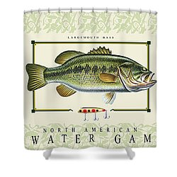 Freshwater Gamefish Shower Curtain