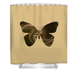 Freya's Hen Shower Curtain