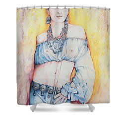 Frida Kahlo Shower Curtain