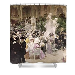 Friday At The Salon Shower Curtain
