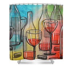 Friday Night Shower Curtain