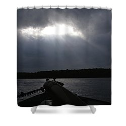 Friday Night Fish Fry Reservations Shower Curtain