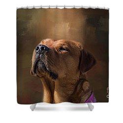 Frieda Shower Curtain by Eva Lechner