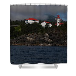 Friendly Cove #1 Shower Curtain