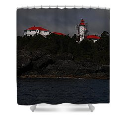 Friendly Cove #2 Shower Curtain