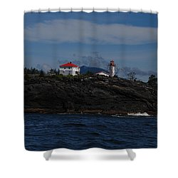 Friendly Cove #3 Shower Curtain