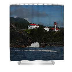 Friendly Cove #4 Shower Curtain