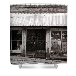 Friendly Recreation- Utica Mississippi Shower Curtain