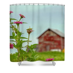 Friends Of Flowers Shower Curtain