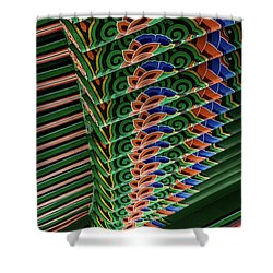 Friendship Bell Shower Curtain