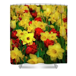 Friendship Shower Curtain by Tamyra Ayles