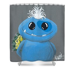 Friendzone Filbert Shower Curtain