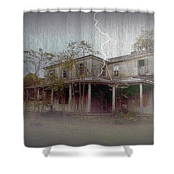 Frightening Lightning Shower Curtain by Brian Wallace