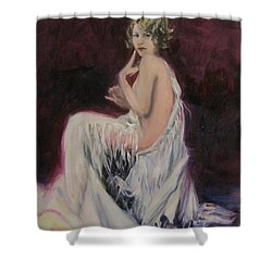 Fringe Tease Shower Curtain