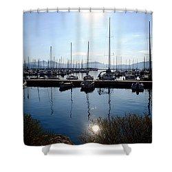 Frioul Island Sailing Resort Shower Curtain