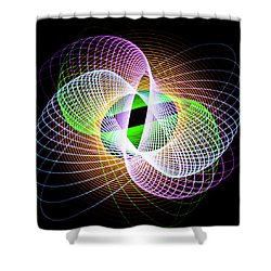 Frog Eye Shower Curtain
