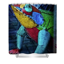 Shower Curtain featuring the photograph Frog Prince by Mary Machare