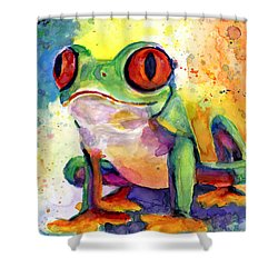 Froggy Mcfrogerson Shower Curtain