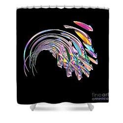 Frolicking Fishes  Shower Curtain by Greg Moores