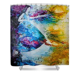 From Captivity To Creativity Shower Curtain