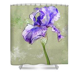 From Charlotte's Garden Shower Curtain