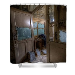 Shower Curtain featuring the digital art From Darkness by Nathan Wright
