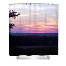 Shower Curtain featuring the photograph From Here To Eternity by Betty Northcutt